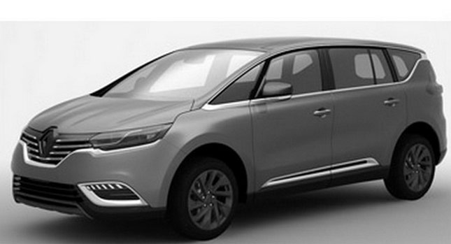 renault espace 2015 autos hoy. Black Bedroom Furniture Sets. Home Design Ideas