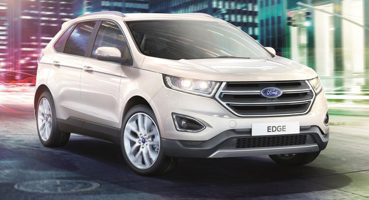 Precios Del Ford Edge 2017 En Reino Unido Autos Hoy