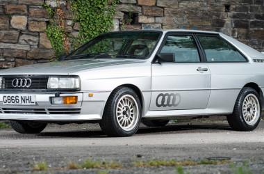 Audi Quattro Turbo 1990