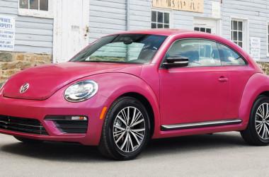 Volkswagen Escarabajo Pink 2017