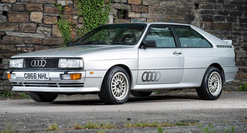 Audi Quattro Turbo 1990 - Autos Hoy